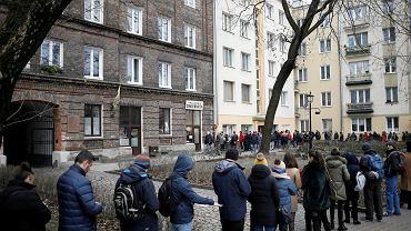 Tłusty czwartek w Warszawie - cukiernia 'Zagoździński' przy Górczewskiej.