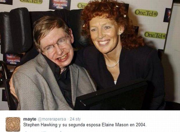 Stephen Hawking i Elaine Mason