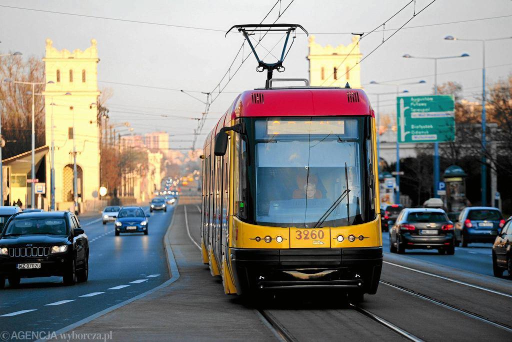 Tramwaj Pesa Swing w Warszawie