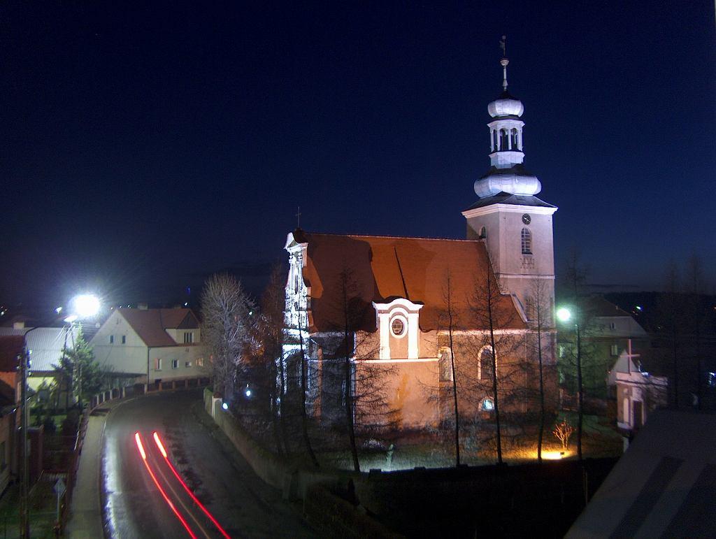 Miękinia, kościół parafialny