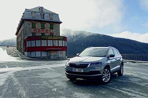 Goldfinger po czesku, czyli SUV-y Skody w Szwajcarii