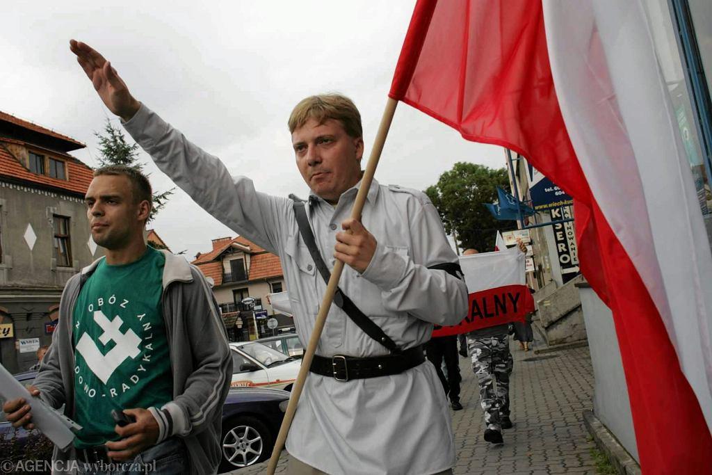 Tomasz Greniuch (z lewej)