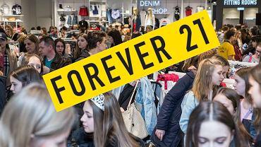Otwarcie Forever 21 w Warszawie