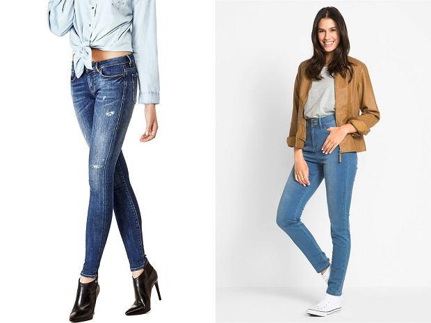 Jeansy dla niskiej kobiety