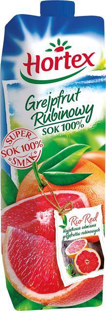 Hortex Grejpfrut Rubinowy sok 100%
