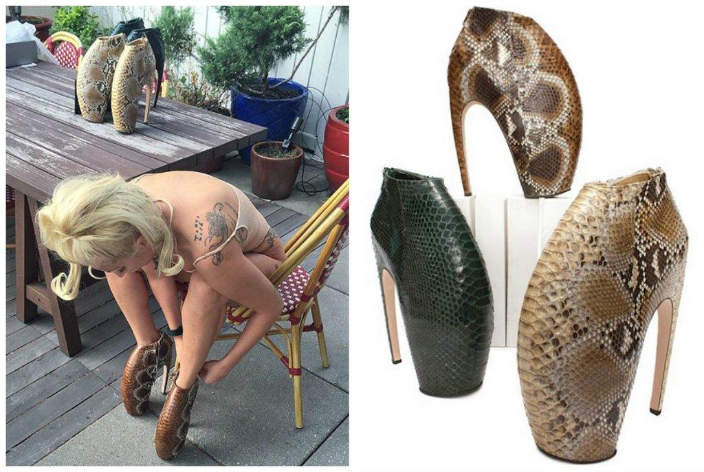 Lady Gaga i Alexander McQueen