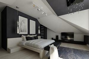 Sypialnia na poddaszu - przytulna i funkcjonalna
