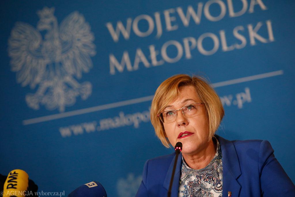 Małopolska kurator oświaty Barbara Nowak