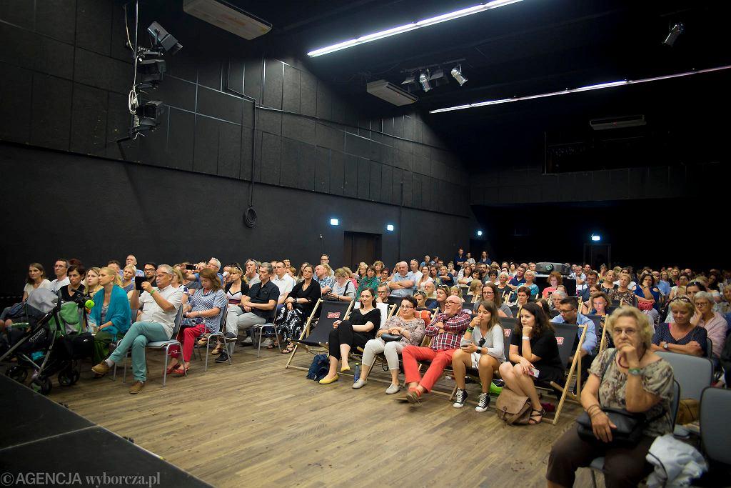 Festiwal #bedzieczytane w Ełku.  / RENATA DĄBROWSKA