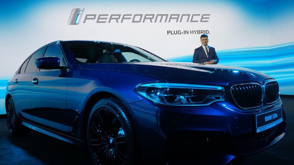 BMW iPerformance serii 5