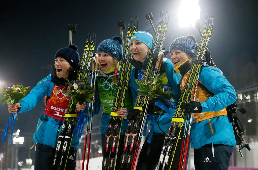 <b>Ukraina</b> - biathlon (sztafeta 4x6 km)