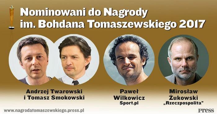 Nominowani do Nagrody im. Bohdana Tomaszewskiego