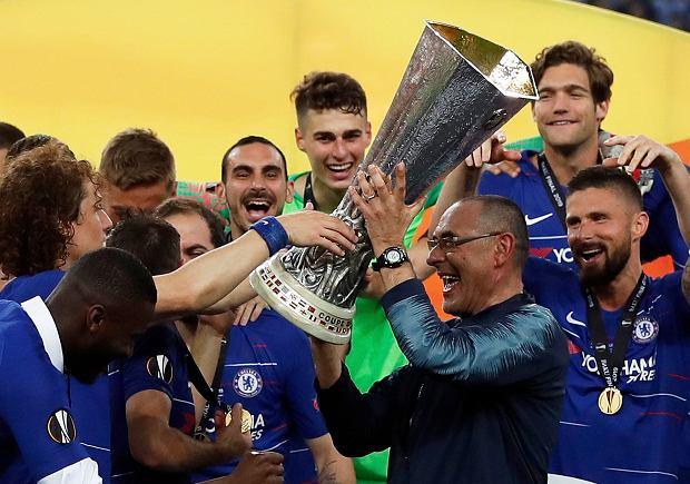 611eb2cc7 Chelsea zgodziła się na odejście Maurizio Sarriego. Ma przejąć ...