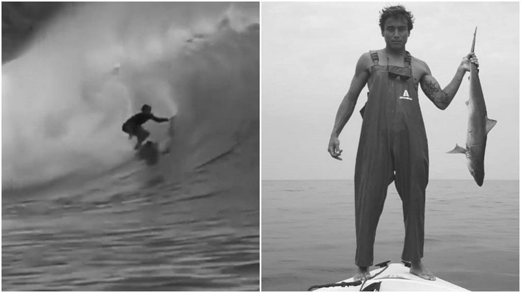 Nie żyje 23-letni surfer z Brazylii, Pedro Tanaka