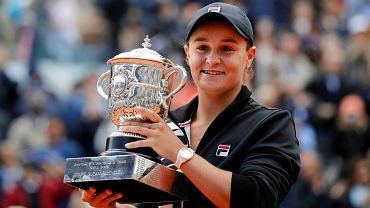 Roland Garros 2019. Mistrzyni Ashleigh Barty