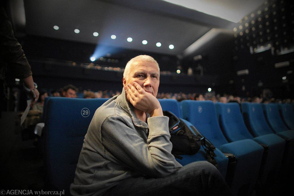 Krauze podczas premiery swojego najnowszego filmu ''Papusza''