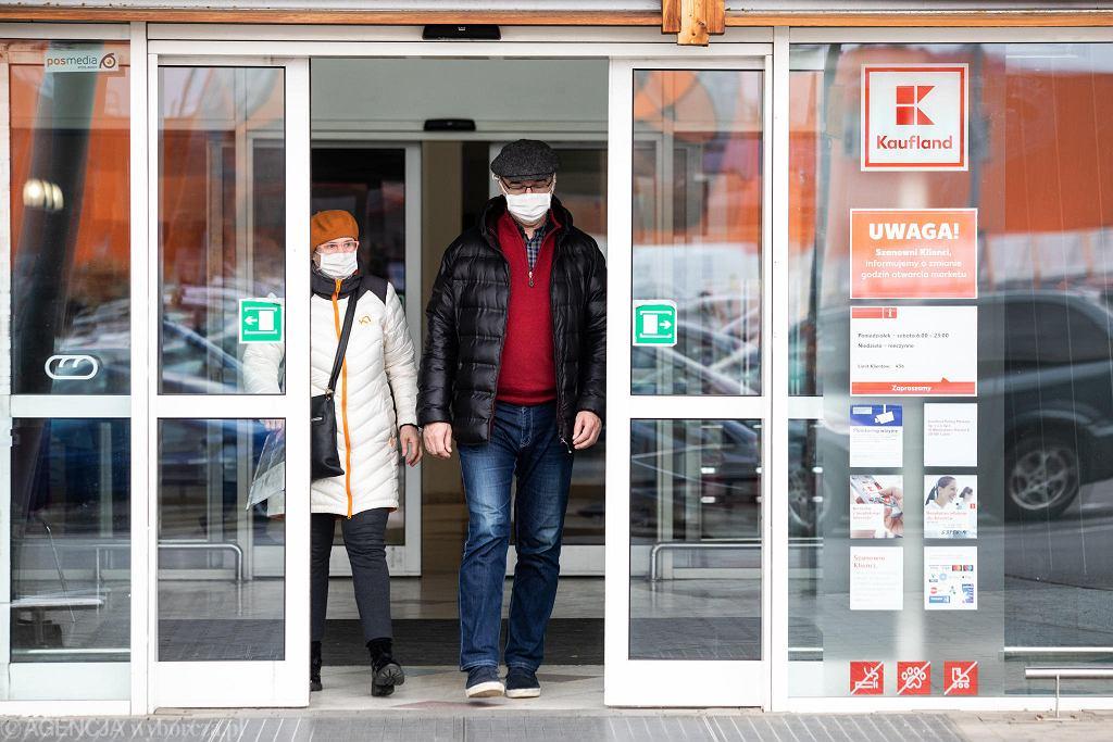 Lublin. Otwarcie hipermarketu Kaufland