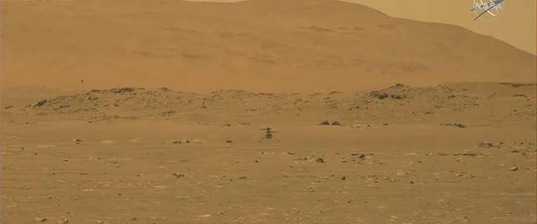Historyczny lot na Marsie zakończony sukcesem. Ogromny sukces NASA
