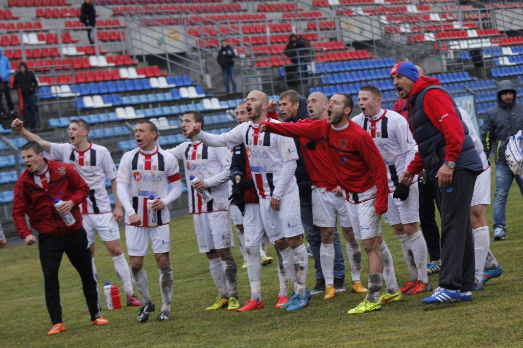 Odra Opole - Podbeskidzie II Bielsko-Białą 1:0