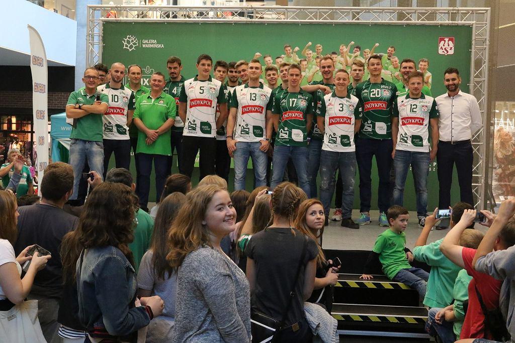Prezentacja siatkarzy Indykpolu AZS Olsztyn