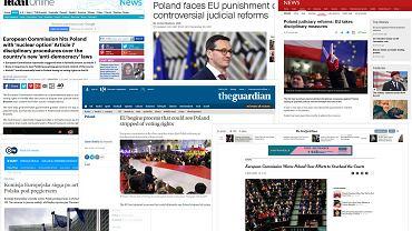 Zagraniczne media o Polsce.