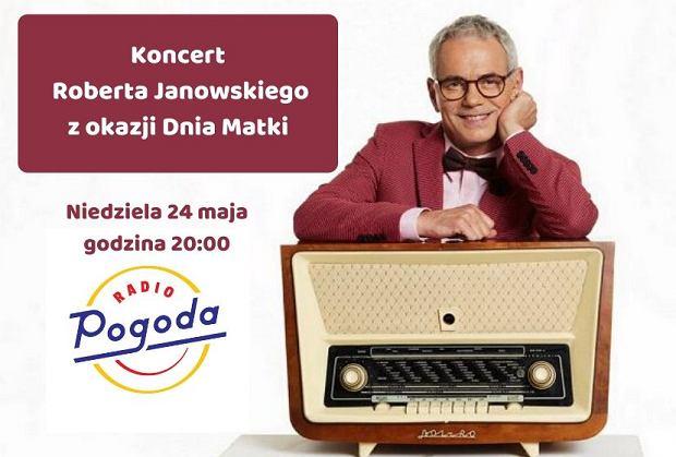 Robert Janowski zaprasza na koncert