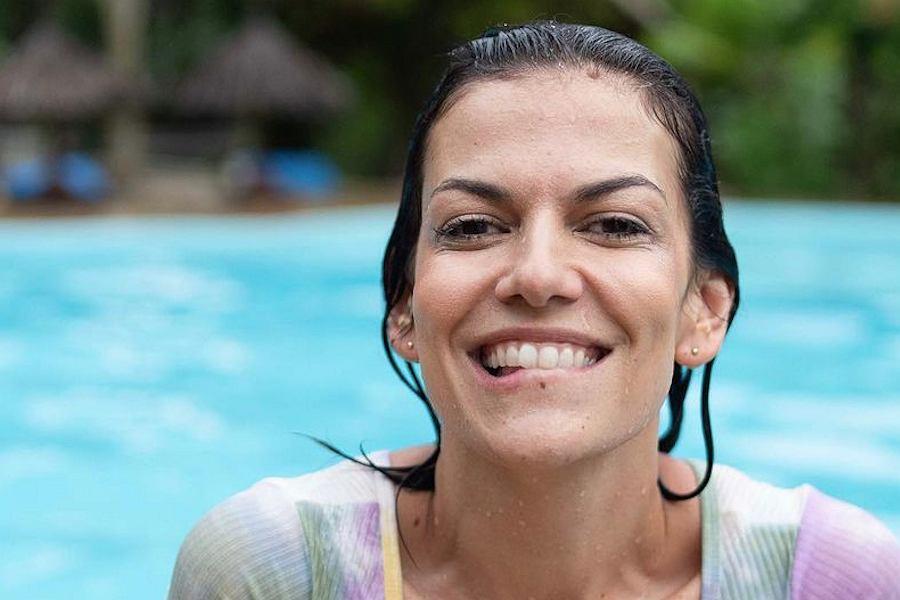 Alżbeta Lenska wypoczywa na Zanzibarze. Aktorka dodała odważne zdjęcie: Chwilo trwaj
