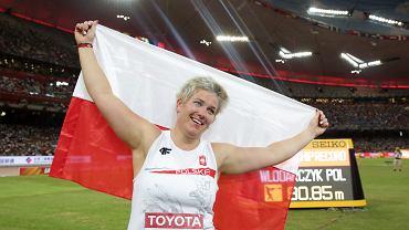 Anita Włodarczyk zdobyła złoty medal w rzucie młotem na lekkoatletycznych MŚ w Pekinie!