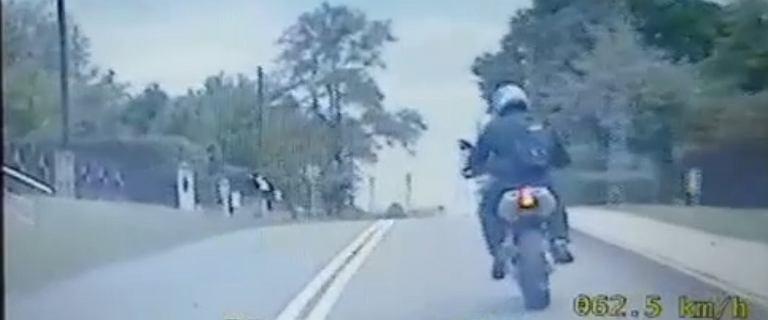 Śląsk. Jechał 160 km/h, będąc pod wpływem narkotyków. W plecaku miał broń