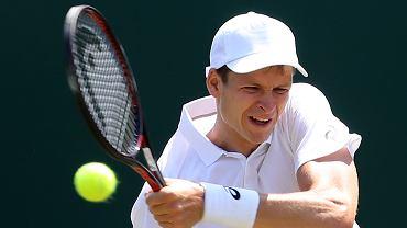 Wimbledon. Hubert Hurkacz