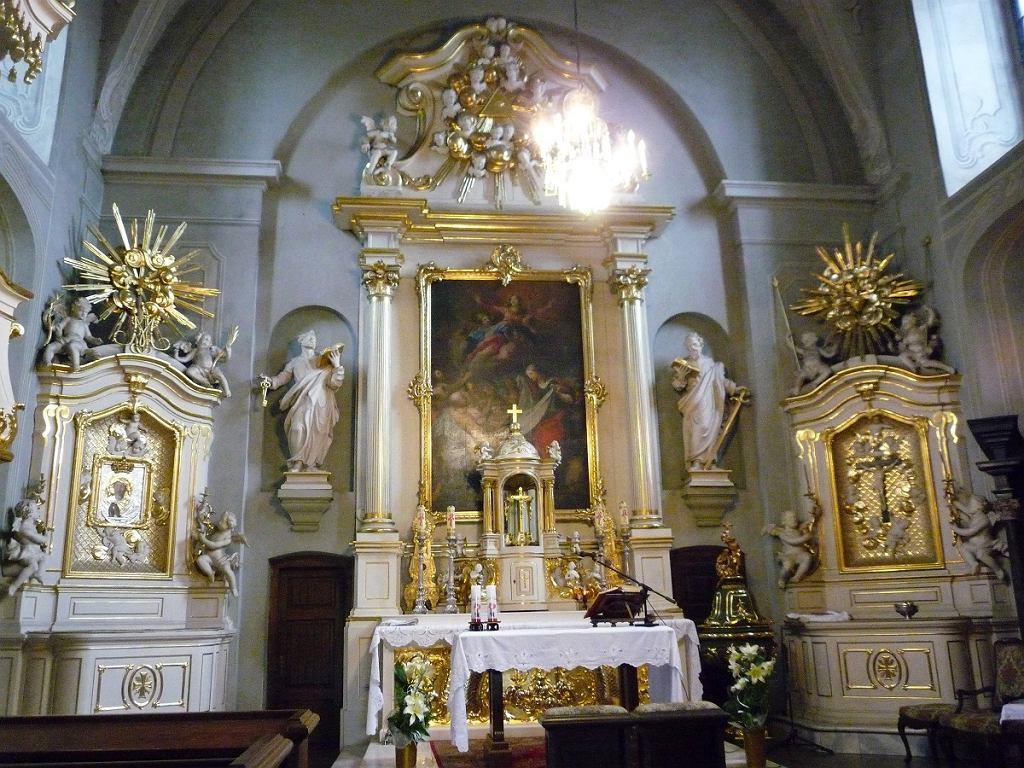 Wnętrze XVII-wiecznej katedry w Białymstoku
