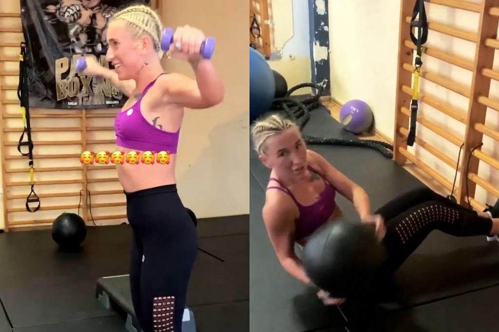 Marta Linkiewicz - trening