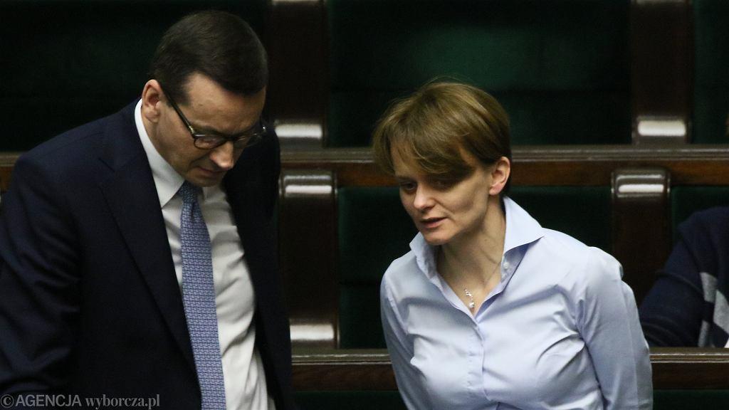 Gospodarka. Premier Mateusz Morawiecki i minister rozwoju Jadwiga Emilewicz