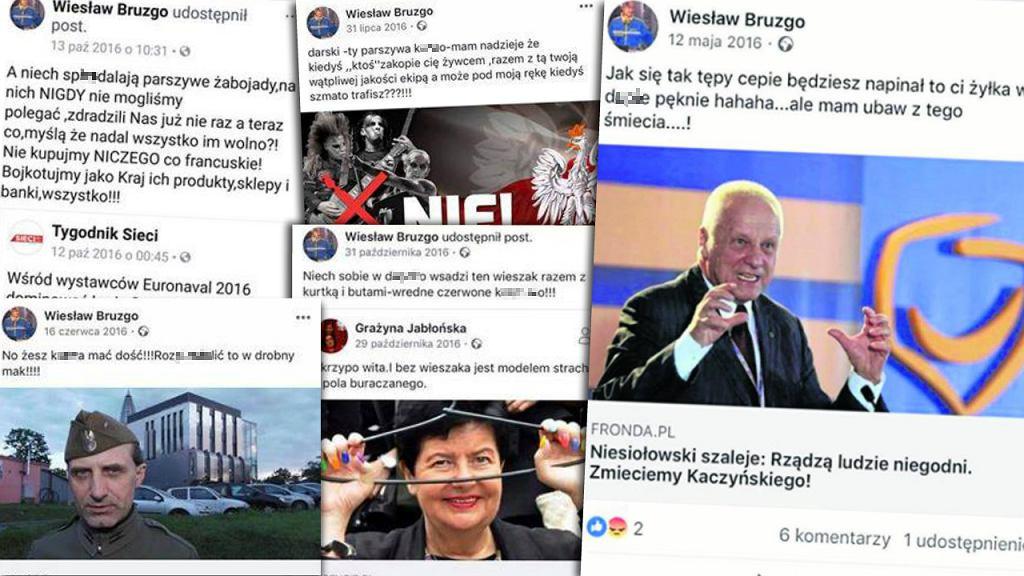 Wpisy Wiesława Bruzgo