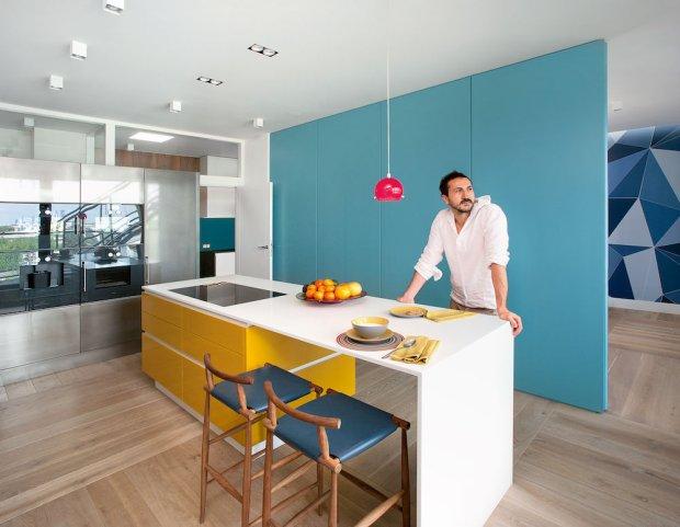 Wnętrza: mieszkanie inspirowane malarstwem