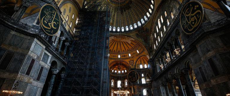 Hagia Sophiaprzekształcona w meczet. Papież Franciszek komentuje