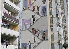 """Bohaterowie serialu """"Alternatywy 4"""" wrócą na Ursynów? Jest pomysł na nowy mural"""