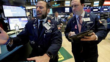 5.02.2018, maklerzy na nowojorskiej giełdzie NYSE.