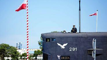 ORP Orzeł podczas Święta Marynarki Wojennej w Gdyni w 2019 roku