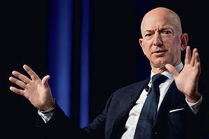 Jeff Bezos największym filantropem w ubiegłym roku