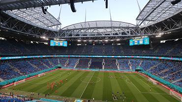 Stadion w Sankt Petersburgu.