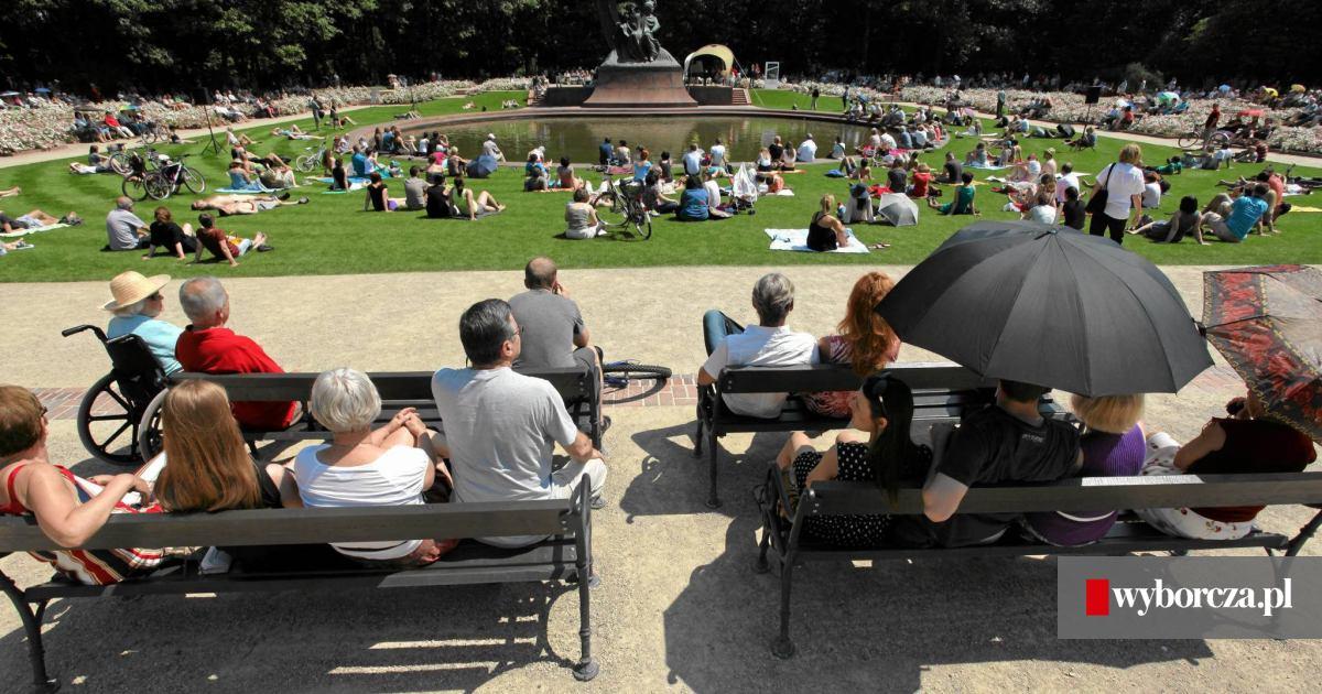Od 55 Lat Warszawiacy Chodzą Na Koncerty Pod Pomnik Chopina