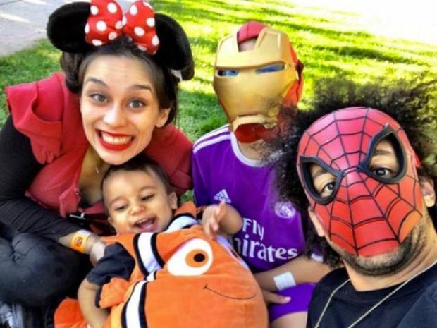 Zdjęcie numer 15 w galerii - Gwiazdy sportu świętują Halloween! Niezwykłe kostiumy [ZDJĘCIA]