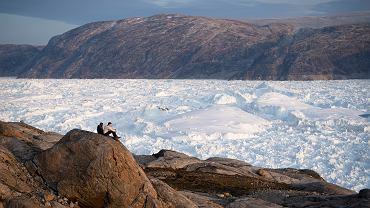 16.08.2019, lodowiec Helheim na Grenlandii.