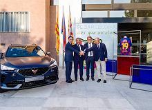 Cupra została partnerem drużyny piłkarskiej FC Barcelona