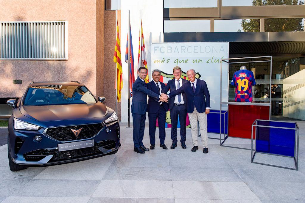 Cupra oficjalnym partnerem FC Barcelona