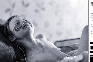 """Tak wygląda """"prawdziwa twarz raka"""". Rozdzierające serce zdjęcie, które ojciec zrobił umierającej córce"""