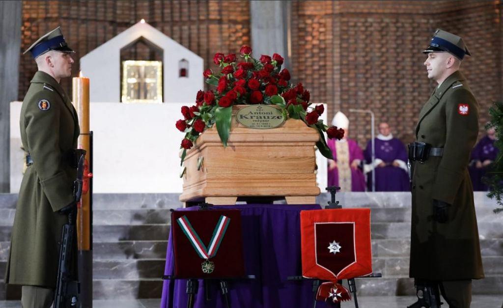 Pogrzeb Antoniego Krauze