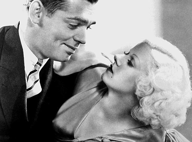 Zdjęcie reklamowe Clarka Gable'a i Jean Harlow na potrzeby filmu 'Hold Your Man' z 1933 roku (fot. Materiały prasowe)