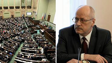 Po sejmowej awanturze wybrano prof. Jędrzejewskiego na sędziego Trybunału Konstytucyjnego.